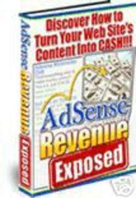 Product picture Adsense Revenue Exposed